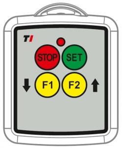 Funkfernbedienung 2 Funktionen