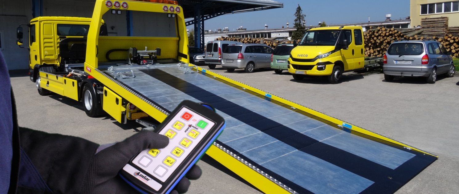 Funkfernsteuerung Fahrzeugbau