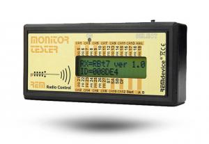 Funkfernsteuerung Monitortester